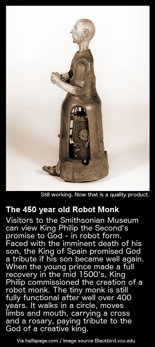 The Robot Monk