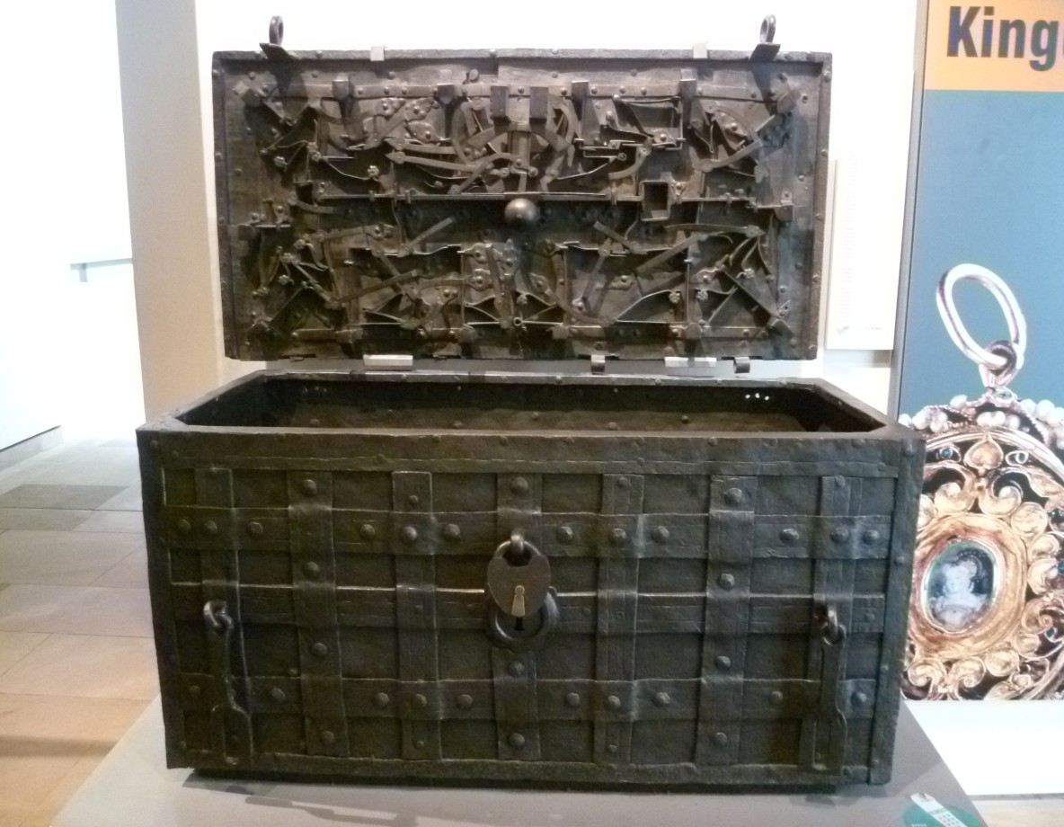 The Darien Chest which held all the documents and money for this fiasco